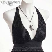 ALCHEMY GOTHIC  Voodoo Doll Necklace | Gothic Jewellery